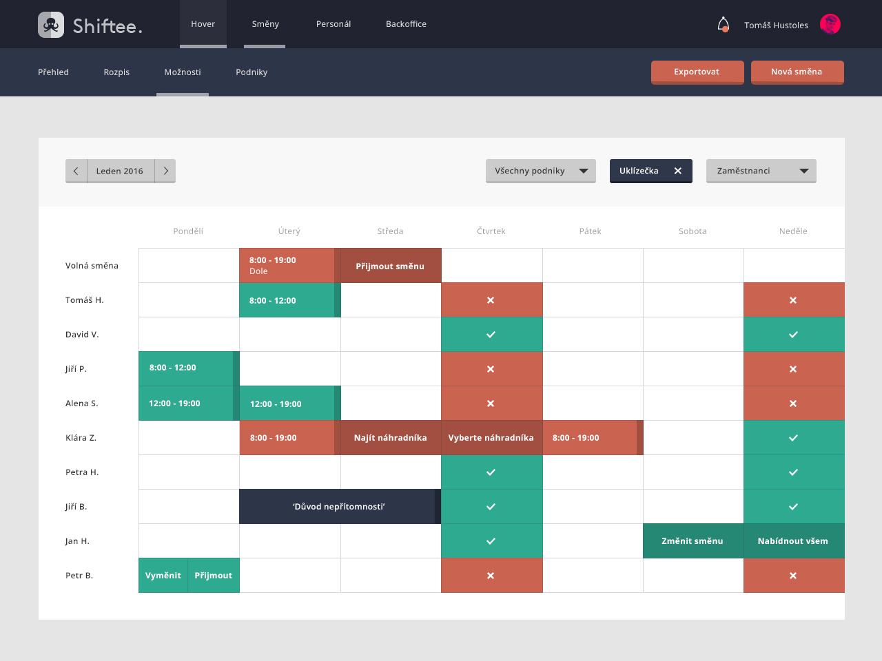 shiftee-calendar-moznostizamestnancu-portfolio